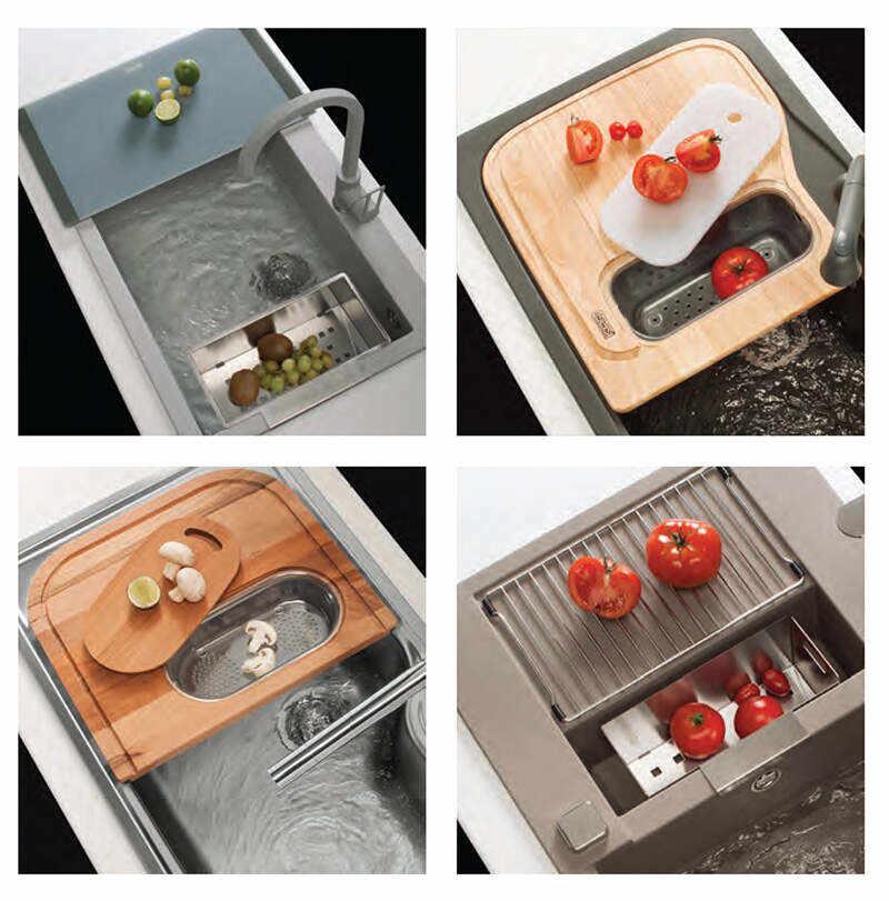 Accessori Per Lavelli Da Cucina.Cover Per Il Lavello Della Cucina Quareco